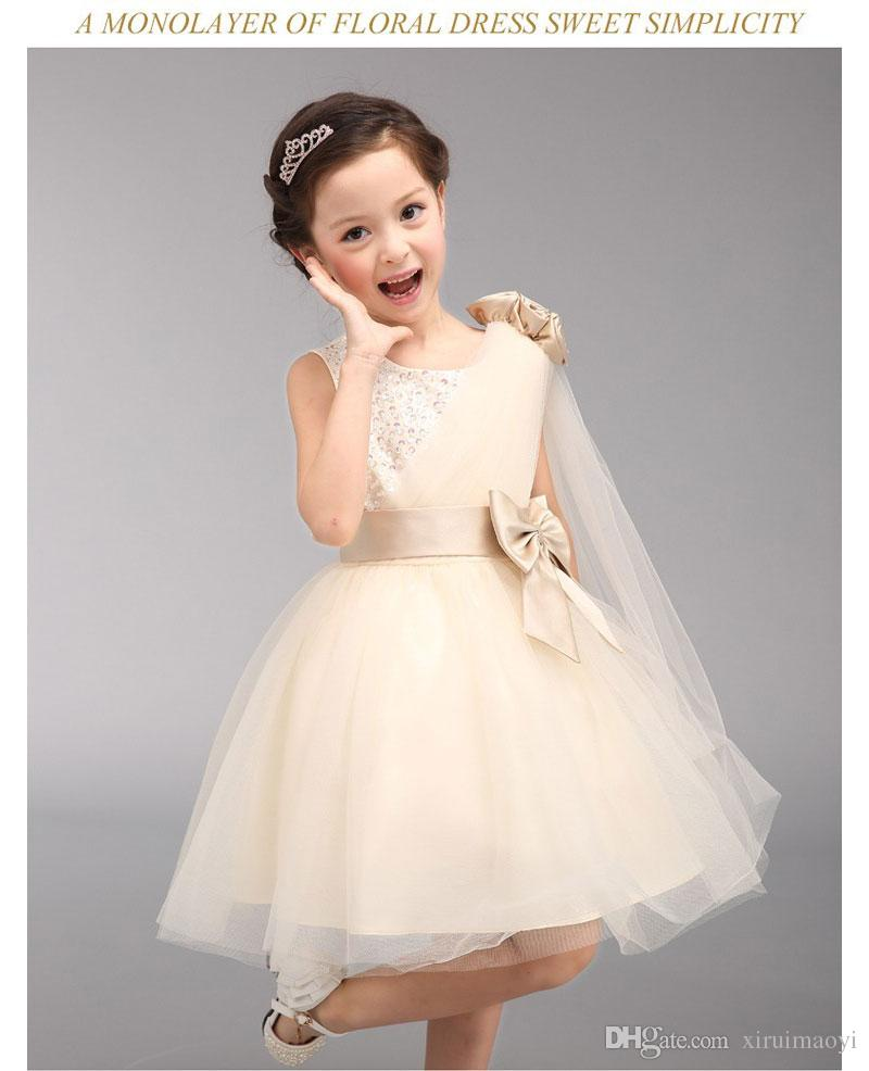 Yeni Stil çocuğun 2 ila 4 bebek kız elbise Cosplay Kostüm Külkedisi Gelinlik Bebek Kız Prenses Parti elbise Vestidos