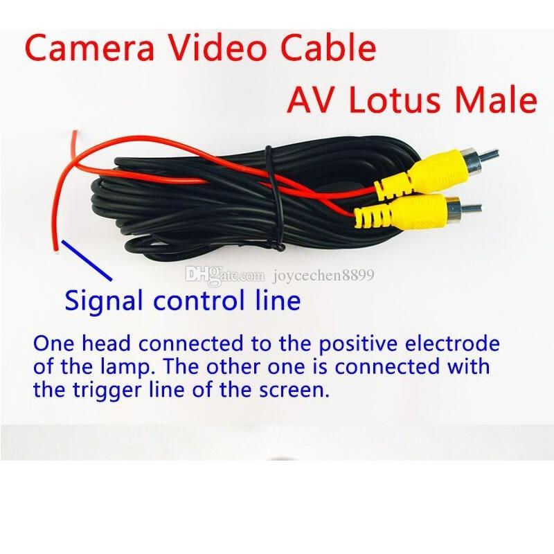 Universal CCD Car Auto Back Up Reverse Backup Night Vision Rear View Camera Waterproof HD 170 Degree Parking Assistance