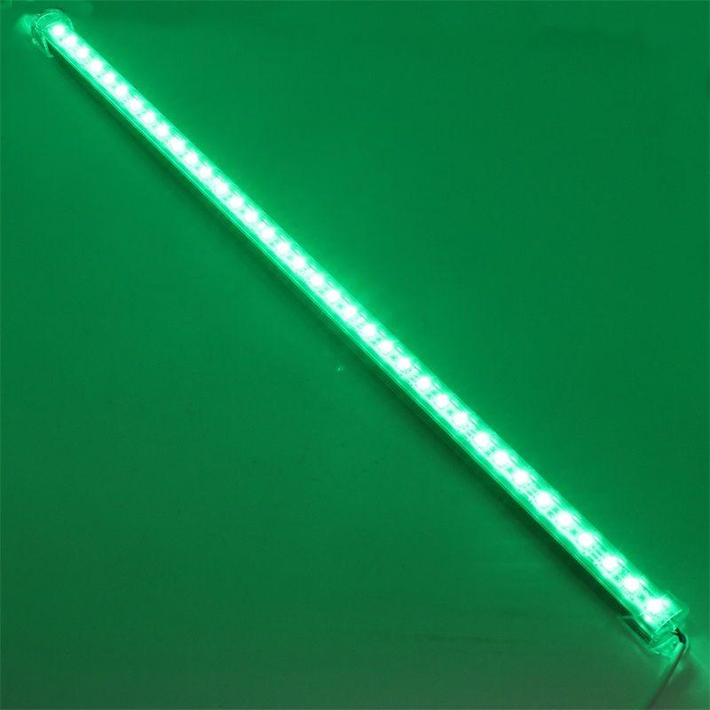 LED Rigid Strip 5050 LED Bar Light RGB Waterproof Groove 50cm / 36leds DC 12V 5050 SMD LED Tube Hard Strip