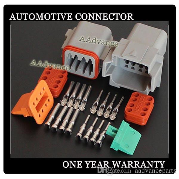 Awesome 8 Pin Male Female Deutsch Automotive Electrical Connectors Plugs Wiring Cloud Mangdienstapotheekhoekschewaardnl