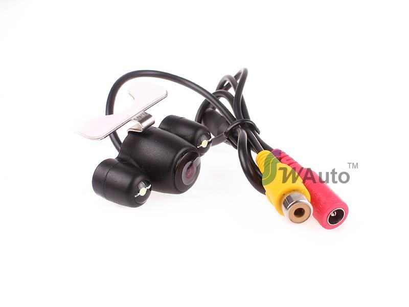 Caméra de recul caméra de recul caméra sans fil 2.4G sans fil / caméra arrière fil HD 140 angle