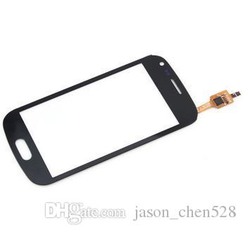 Touch screen digitizer flex Glass Panel Lens front cover case For Samsung Ace 2X S7560 / S Duos S7562 S7560 replacements parts DHL shipping