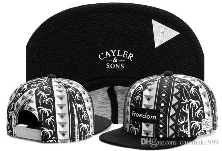 ingrosso nuovo marchio di moda di snapback di baseball cap basket figli Cayler cappello fabbrica direttamente sport Gorras ordine misto