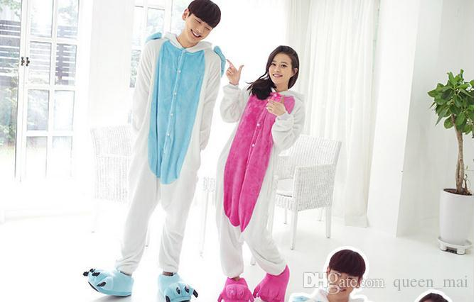 adult pink Unicorn Onesies Cosplay pajamas Pyjama Jumpsuit halloween christmas party cosplay costumes Cartoon pink Unicorn Horse jumpsuit