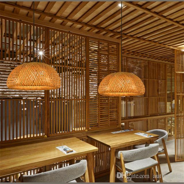 Discount Bamboo Pendant Light Fashion Art Deco Pendant Light Project Brand  Design Living Room Hotel Light Fitting Double Pendant Light Blue Pendant  Lights ...