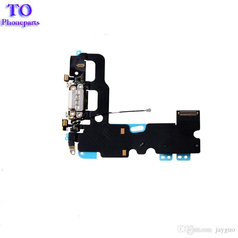 New USB Charger Charging Connector Dock Port Flex Cable Replacement for iPhone 7 4.7inch 7 plus 5.5inch Accessories Parts