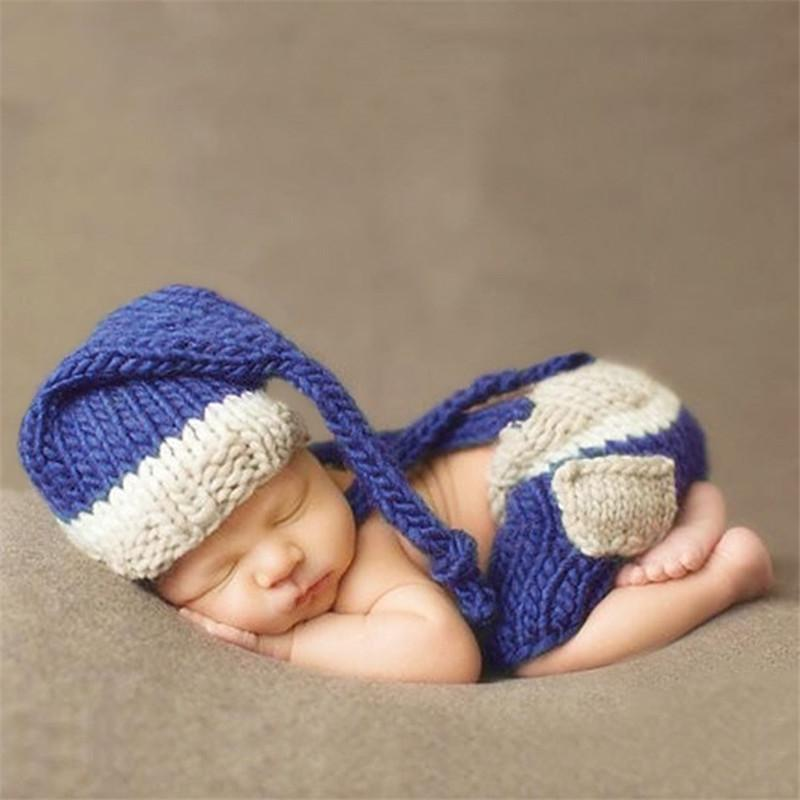 2018 baby newborn photography clothes baby photography props manual knitting wool child suit infant toddler photo accessories from kiss my baby