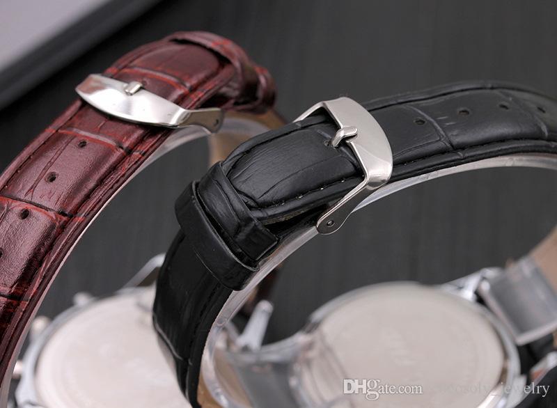 Homens / Mulheres Unisex FHD Blu-ray cinto de Couro Colorido Relógios de Pulso De Quartzo Cronômetro para Estudante Casal Amante Melhor Presente de Natal