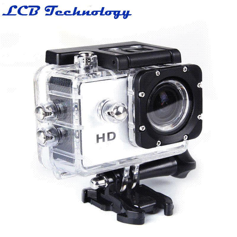 "1.5"" HD 1080P 30FPS 12MP Outdoor Sports DV Action Camera Waterproof 30M 170 Wide Angle Digital Video Camcorder Cam Car DVR DV-20"