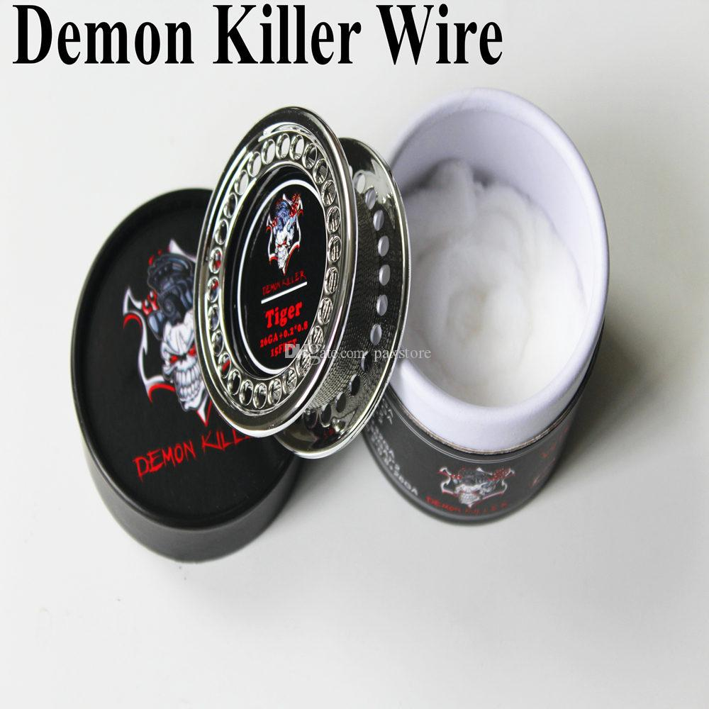 Demon Killer Wire Coil Alien Clapton Hive Tiger Flat Mix