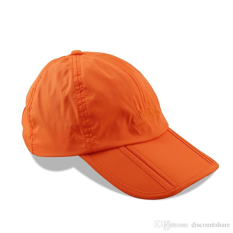 827d37744 NEW Folding Foldable Waterproof Outdoor Sport Camping Ball Cap Hat Unisex