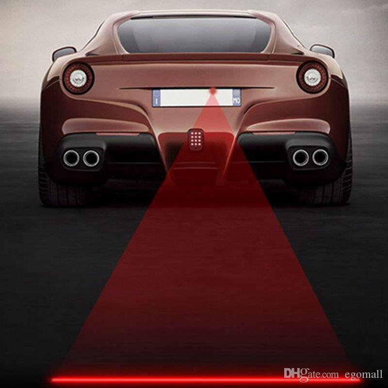 Car styling anti colisión trasera coche cola 12 v led luz de niebla luz de advertencia de estacionamiento automático para volkswagen para bmw