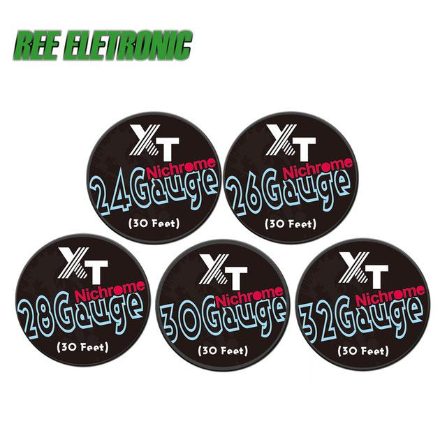 Wholesale E Cigarette Nichrome Heating Wires Kit 5 Size 24/26/28/30 ...
