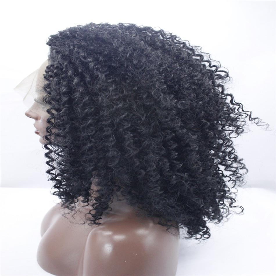 kabell wigs Fashion wig lace front wigs Black Curly hair with two shades of wavy hair Big wave hairstyle wigs African American fashion wig