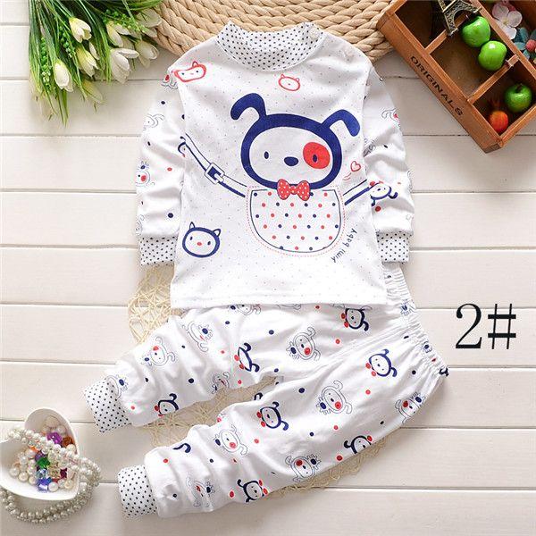 139d01910 Boys Longe Sleeve Set Cartoon Suits 2016 Newest Kids Sleepwear Girls ...