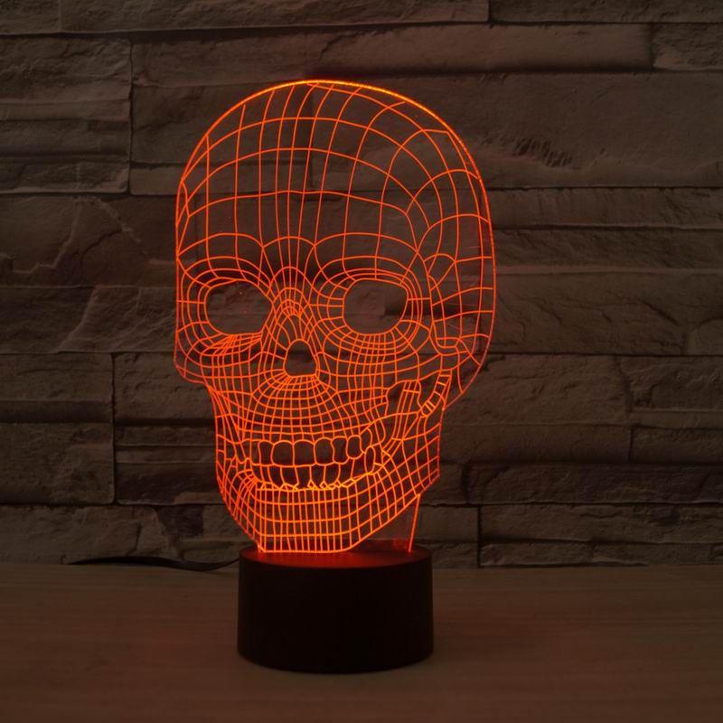 DIY трубы 3D лампы моды настольные лампы Luminaria для спальни Art Decor Night Light Micro С USB Line Abajur Lava Lamp