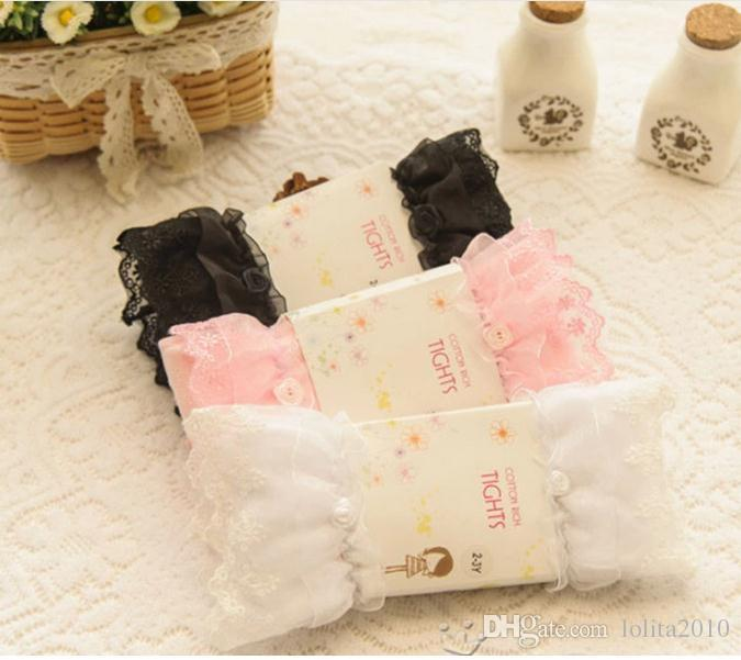 2016hot Pretty Baby Kids cotton Tights Baby girls Legging Toddler Winter/sping/autumn Stockings Socks Tights Lovely Pantyhose Pants Trousers