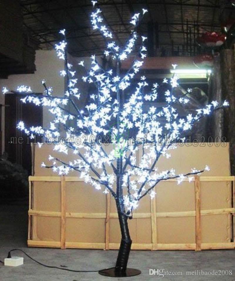 2017 новый красивый LED Cherry Blossom Рождественская елка освещение P65 водонепроницаемый сад пейзаж украшения лампы для свадьбы Рождество мой