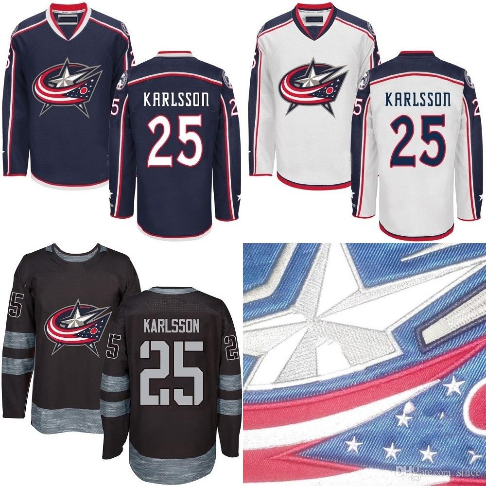 premium selection ec934 b9ce2 official columbus blue jackets home jersey 9ae26 0dbde