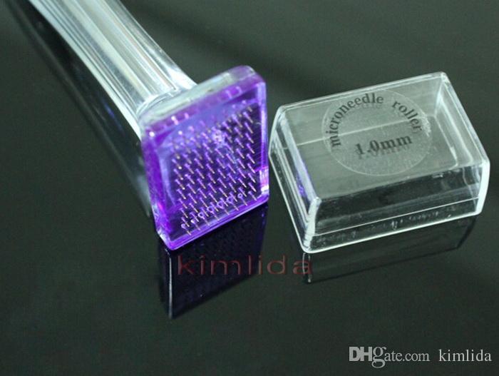تمتد علامة إزالة 80 إبر التيتانيوم ديرما ختم مايكرو إبرة العلاج الجمال ديرما الأسطوانة ختم ديرما