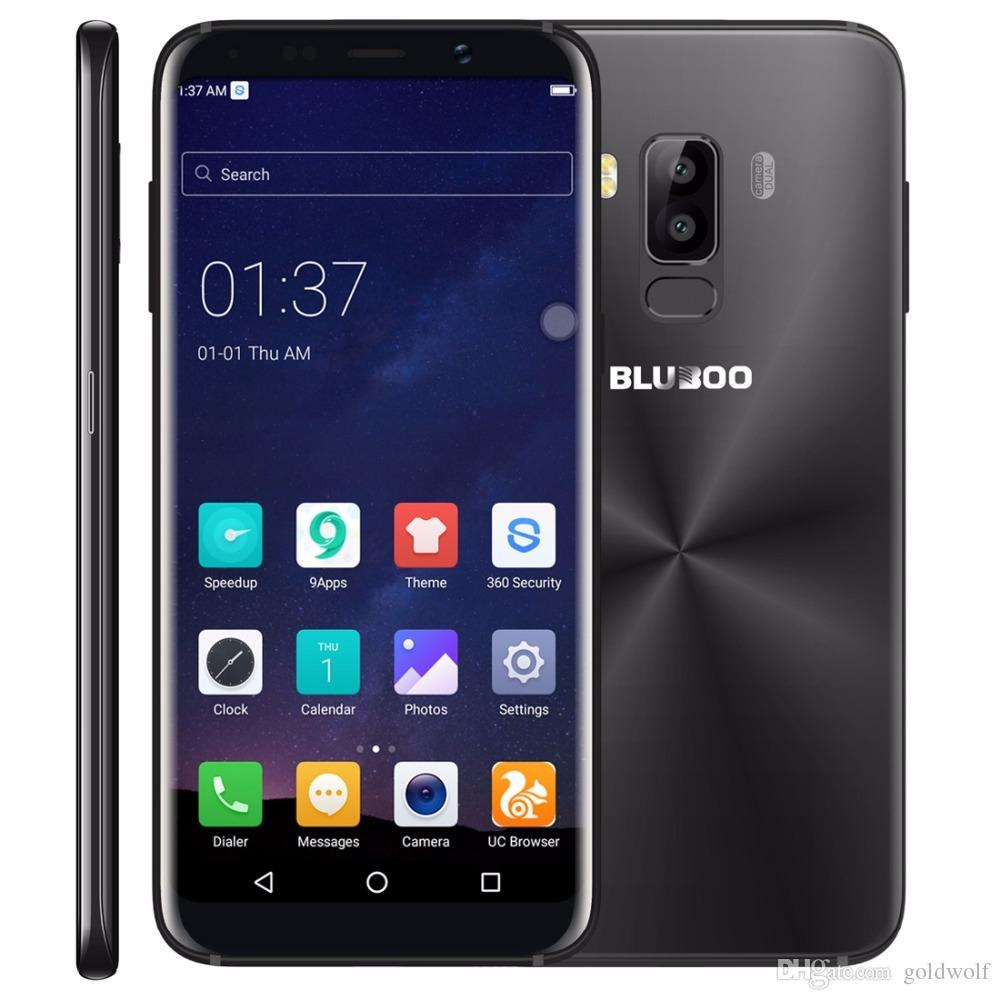 Bluboo S8 Android 7 0 5 7 HD Display 4G LTE Smartphone MTK6750 Octa Core  RAM 3GB ROM 32GB Dual Rear Cam Mobile Phone