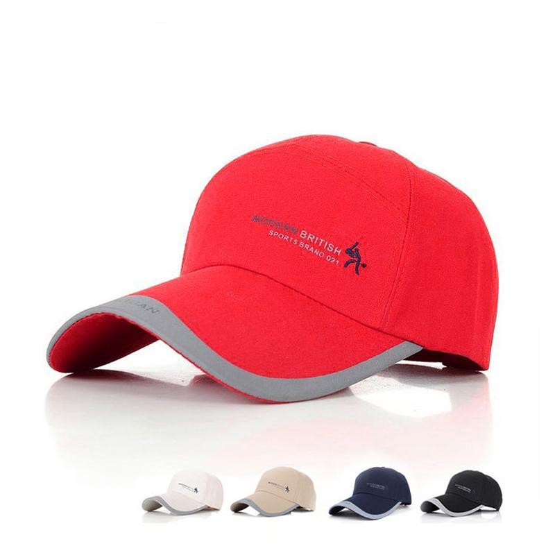 9d375c72fdc Cotton Men Hip Hop Snapback Baseball Caps Sun Hats Outdoor Sports Golf Cap  Adjustable Male Casquette Casual Peaked Cap GH 27 Baseball Cap Flat Cap  From ...