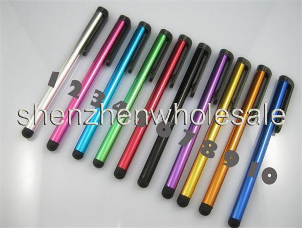 Lápiz del tacto de la aguja de la aleación de aluminio para el teléfono elegante del tacto del teléfono celular del teléfono para la tableta del Samsung Galaxy S7 S6 S5 Note 4 5 7