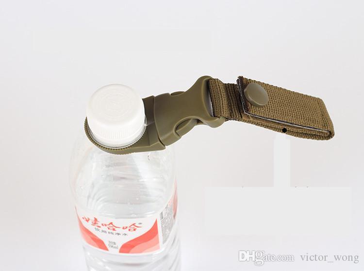 EDC Neue Outdoor military Nylon Gurtband Schnalle Haken Flaschenhalter Clip EDC Klettern Karabiner Gürtel Rucksack Aufhänger Camp