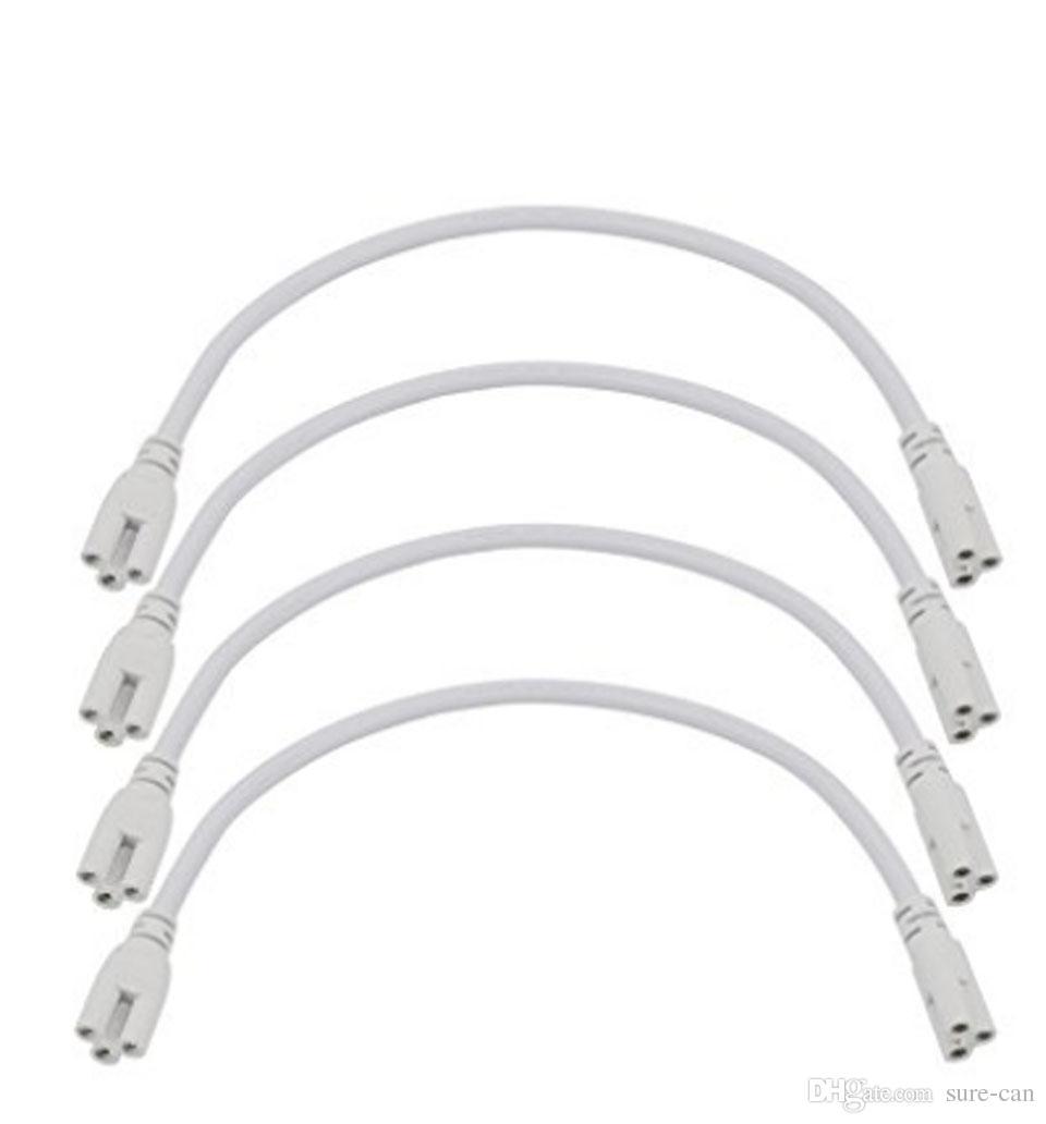 1ft 2ft 3ft 4ft 5ft Verlängerungskabel T5 T8 Verbindungskabel Kabel Draht Doppelendiges Verbindungskabel Für integrierte LED-Leuchtstoffröhre