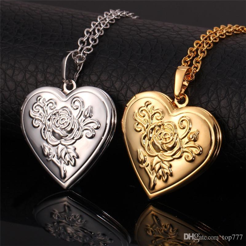 8 White Kitchens That Will Make You Say Wow: Wholesale Locket Rose Flower Jewelry Valentines Gift For