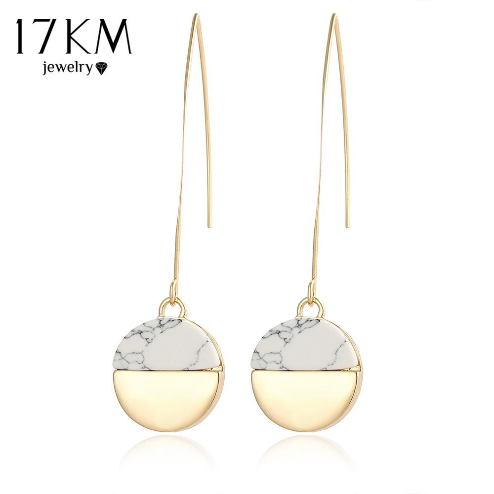 white single gold stone image diamond earrings