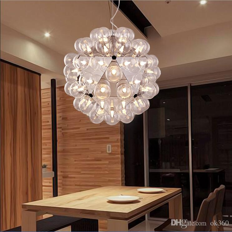 Creative italy taraxacum 88 glass bubble chandelier light modern creative italy taraxacum 88 glass bubble chandelier light modern pendant droplight lamp lighting 204060 heads by achille castiglioni brass pendant lights mozeypictures Image collections
