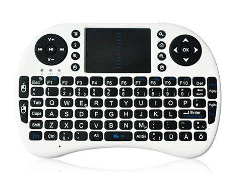 Беспроводная клавиатура Rii i8 клавиатуры Fly Air Mouse мультимедийный пульт дистанционного управления тачпад портативный для тв BOX Android Mini PC