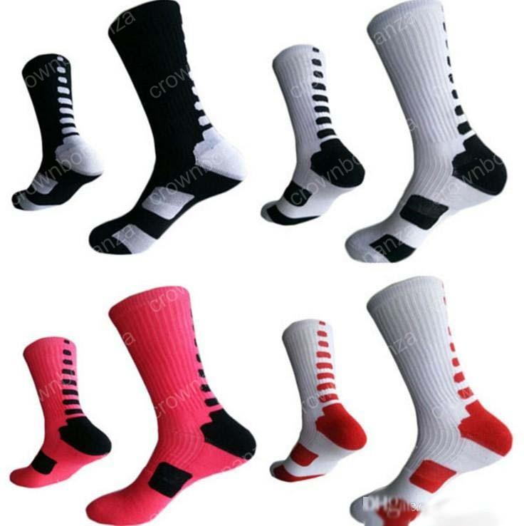62b9570138f 2019 Hot Professional Elite Basketball Socks Long Knee Athletic Sport Socks  Men Fashion Compression Thermal Winter Socks Wholesales From Crownbonanza