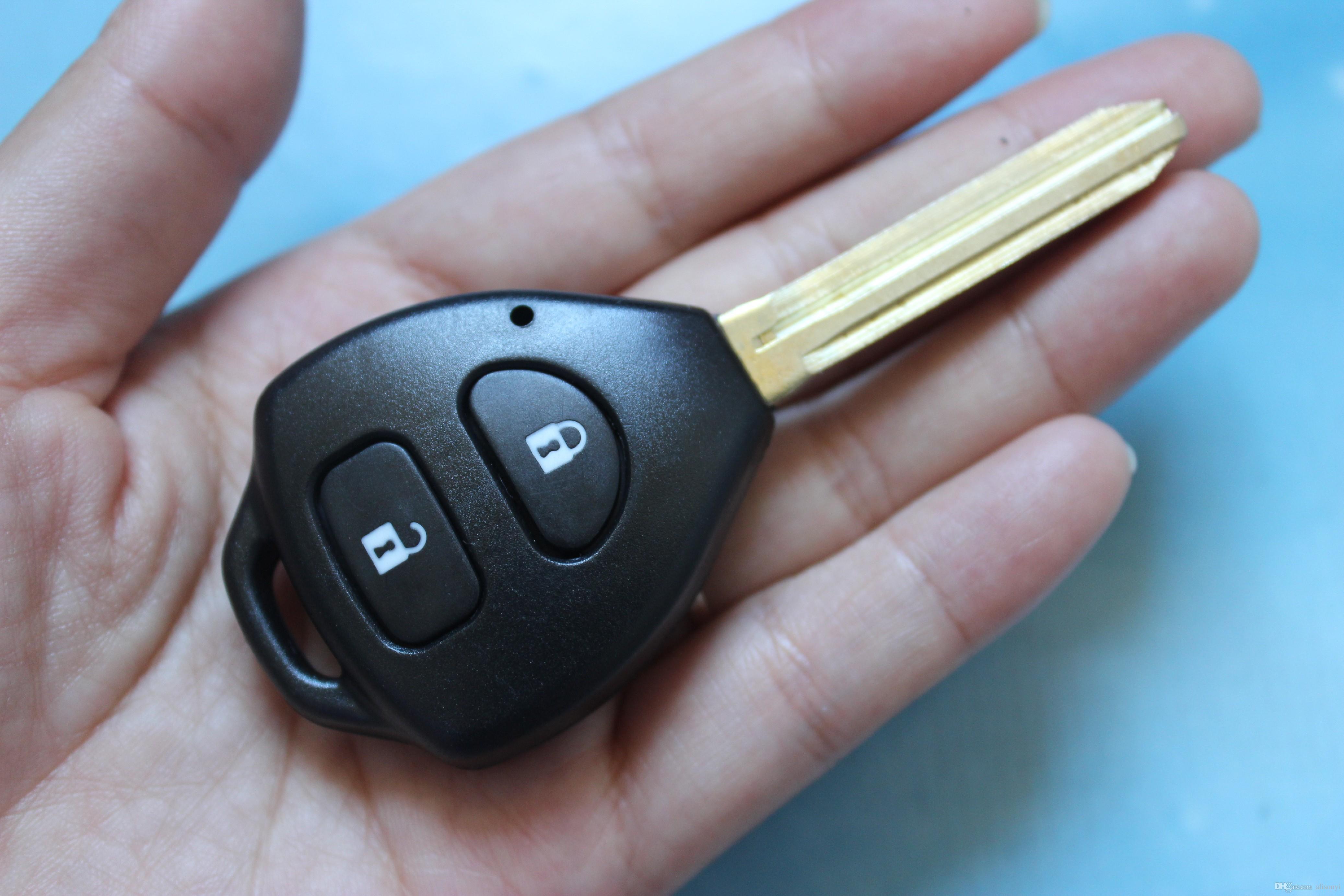 Cyctem Car Remote Key Cover Shell Fit For Toyota Corolla Rav4 2