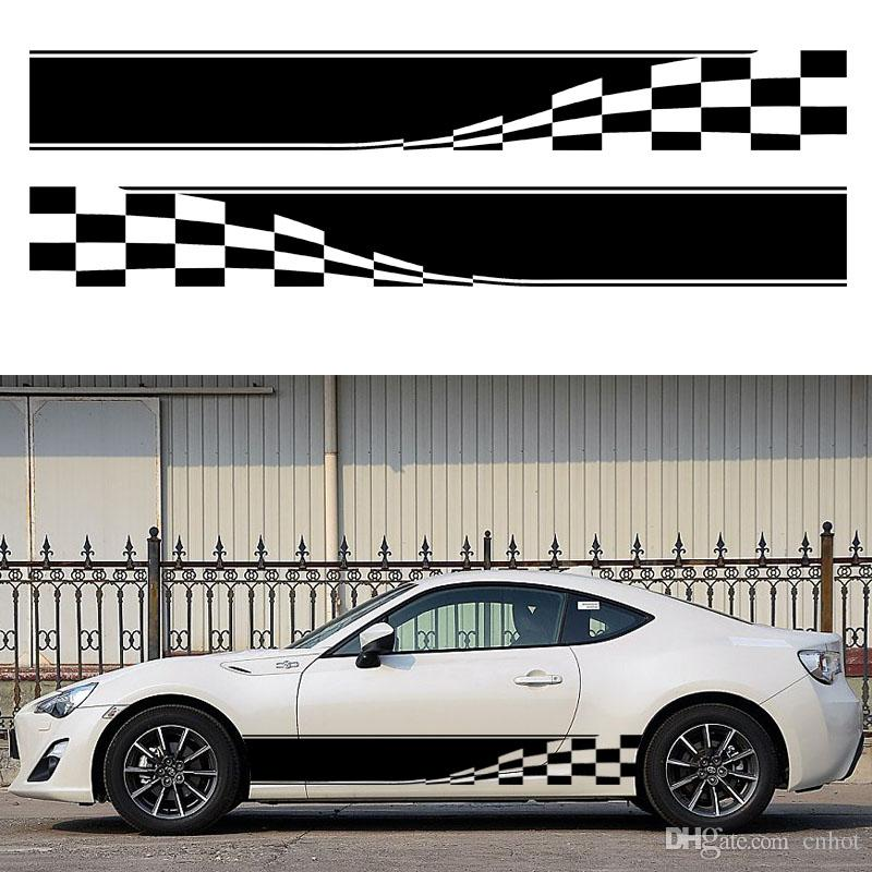 Checkered Flag Auto Graphic Decal Vinyl Car Truck Body Racing - Auto graphic stickersdiscount auto graphic decalsauto graphic decals on sale at
