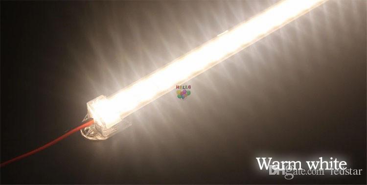 شريط صلب مقاوم للماء ، شريط LED بقوة 5630 سم ، 50 سم ، 100 سم ، LED ، بار ، مع غطاء