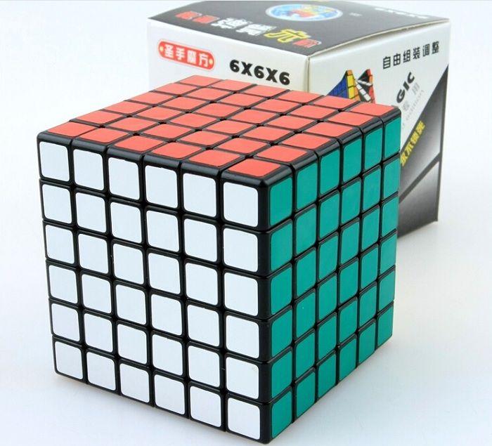 gro handel shengshou 70x70mm 6x6x6 magic cube twist geschwindigkeit puzzle cubes puzzle cubes. Black Bedroom Furniture Sets. Home Design Ideas
