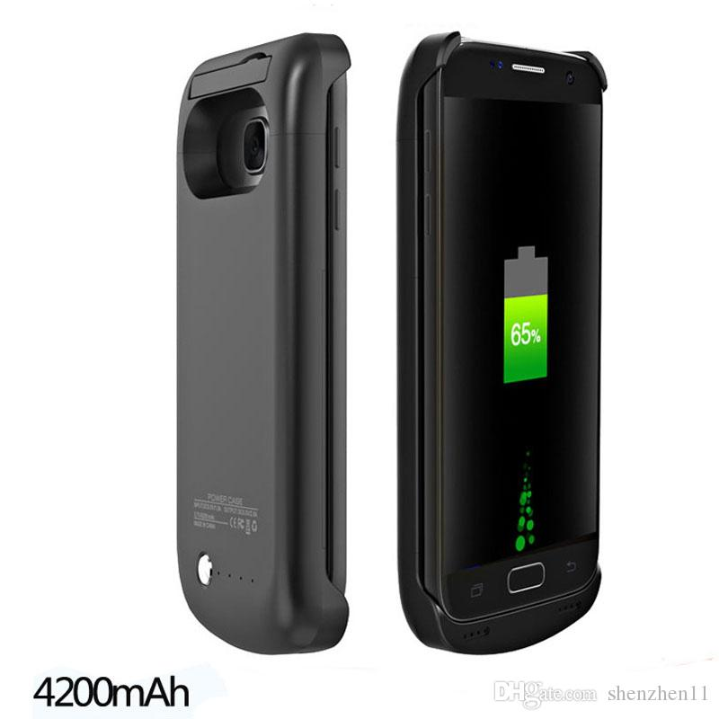 Power Case S7 S7 bord Batterie de secours externe chargeur chargeur Case Portable power bank pack cas pour s6 s6 bord BAC024