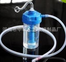 Bombole di ossigeno acrilico di tabacco da fiuto, vetro all'ingrosso di narghilè, bong di vetro, consegna casuale a colori, spedizione gratuita, grande meglio 10 pezzi