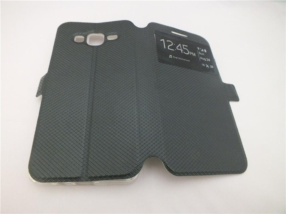 Custodia Cover in pelle protettiva ufficiale PU Flip elegante Samsung Galaxy On5 G550 / On7 G6000 / Core 2 G355H / Samsung Z3 Z300