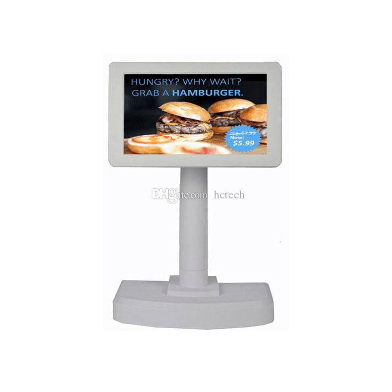 Exposição alfanumérica do cliente de Pólo LCD da posição da fábrica PD7000 para a loja de fast food