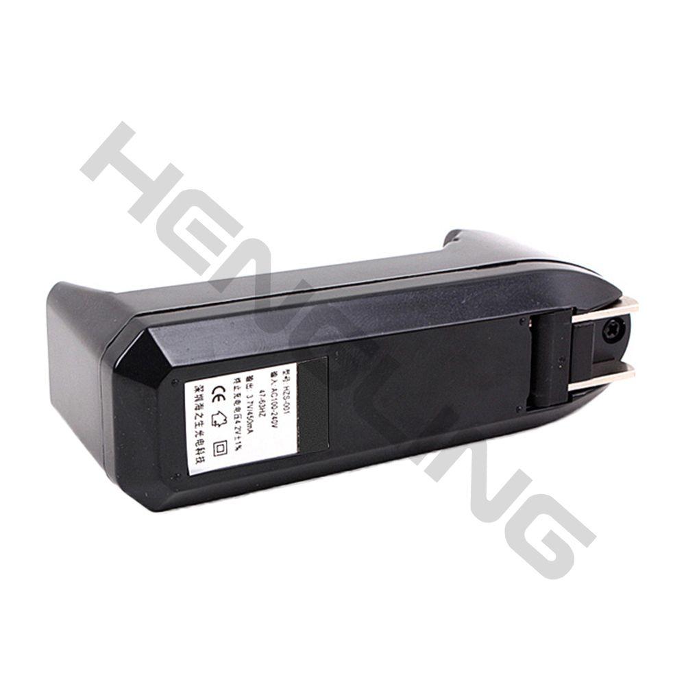 Carregador universal para 3.7 v 18650 16340 14500 bateria recarregável de iões de lítio em todo o mundo caixa mods e cigarro e cig charger
