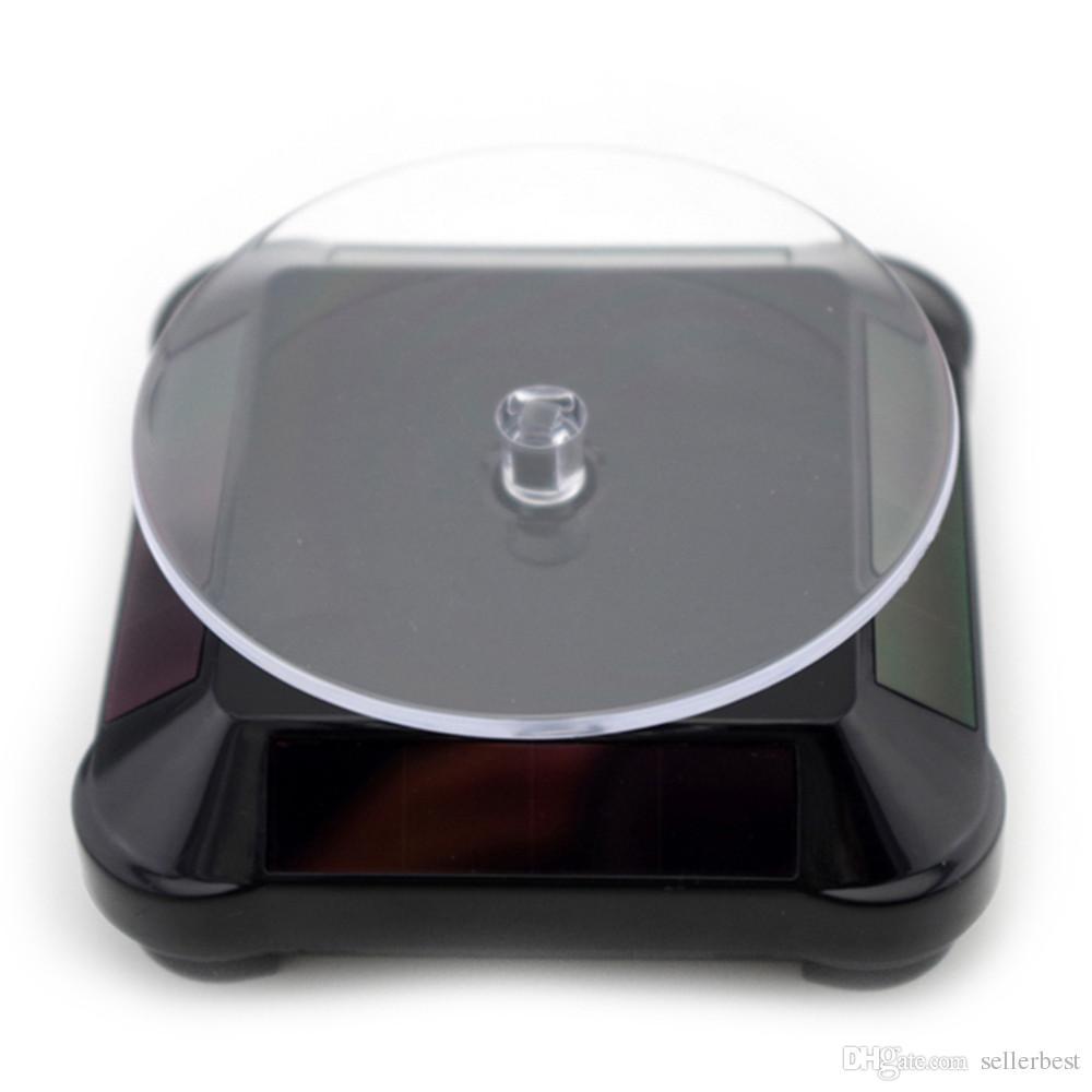 Солнечная витрина 360 поворотный стол вращающийся ювелирные изделия смотреть кольцо стенд горячая распродажа