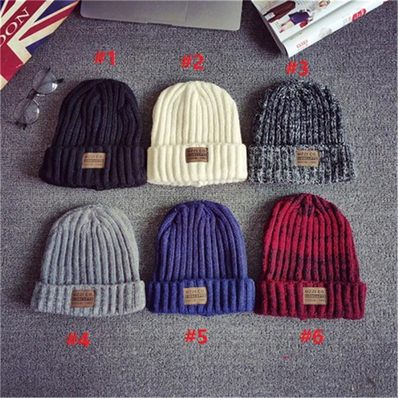 2016 Brand New Fashion Women Men Winter Warm Knitted Crochet Skull Beanie Hat Caps 6 Colors For Unisex Retro Design