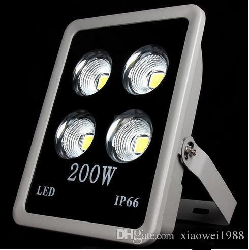 L'ÉPI IP66 200W a mené la lumière d'inondation extérieure de puissance élevée de projecteurs a mené l'allumage de station service