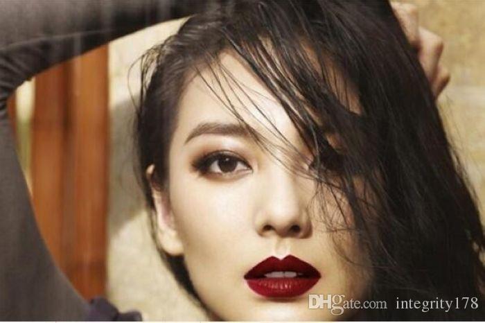 2016 venta caliente impermeable maquillaje duradero labio labio antiadherente longitud es colores completo nani labial brillo / DHL gratis