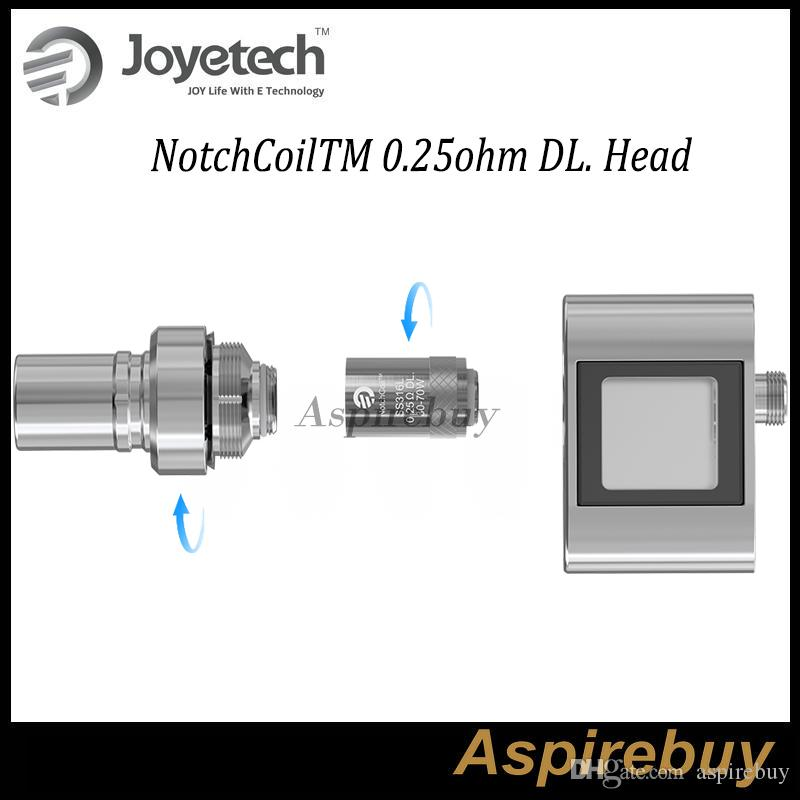 Original Joyetech Cuboid Mini Spule NotchCoilTM 0,25 Ohm DL. Kopf Neu hinzugefügt NotchCoilTM 0,25 Ohm DL. Ersatzspulen für Cuboid Mini