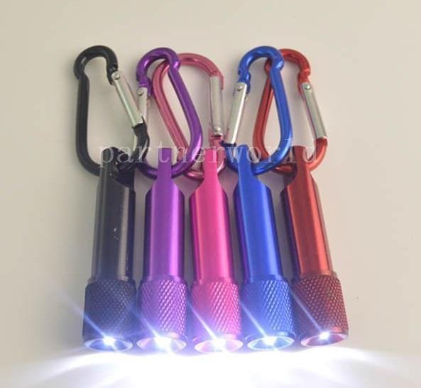 أفضل هدايا عيد الميلاد الصمام المصباح البسيطة سبائك الألومنيوم الشعلة مع حلقة تسلق حلقة مفاتيح سلسلة مفتاح المصباح LED البسيطة 0623