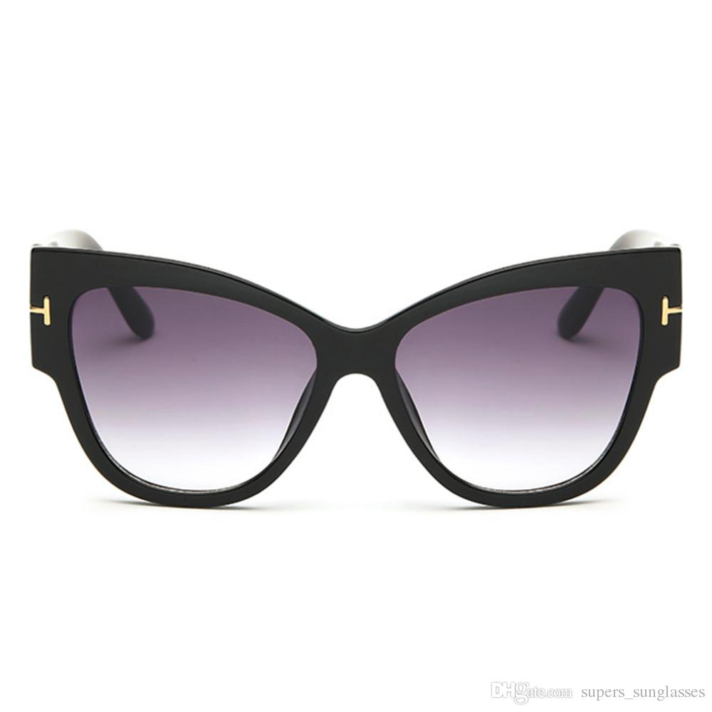 Hot! New Stylish Womens Ladies Fashion Vintage Cat-Eye Big Frame Sunglasses